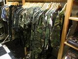 Camouflage t-shirt kinder leger Km