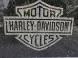 Harley-Davidson logo natuursteen