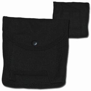 Patroon tas middel zwart