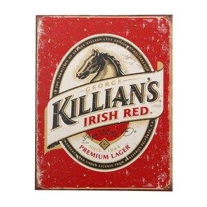 Metalen reclame plaat KILLIANS