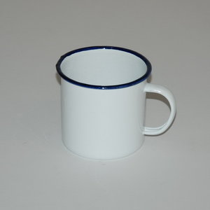 Emaille drinkmok drinkbeker