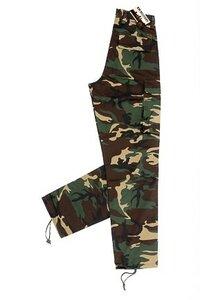 Kinder camouflage broek Km Military
