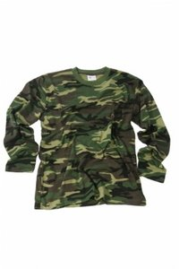 T-shirt camouflage km Military