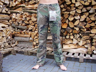 BDU broek ripstop forces woodland.