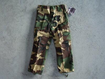 Kinder leger camouflage broek.
