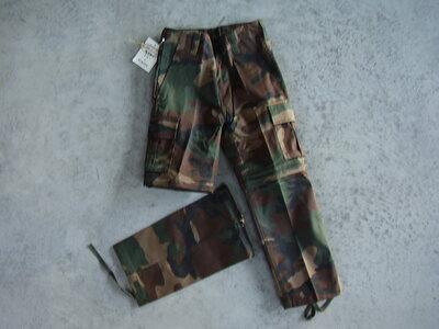 Kinder leger camouflage afritsbroek.
