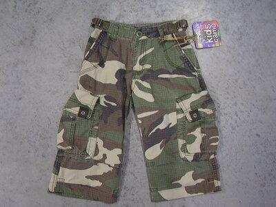 Kinder leger camouflage korte broek.
