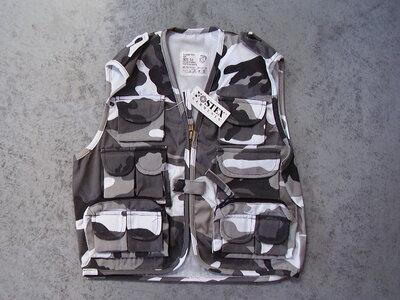 Kinder leger camouflage zomervest urban