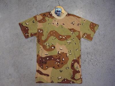 T-shirt leger camouflage desert.